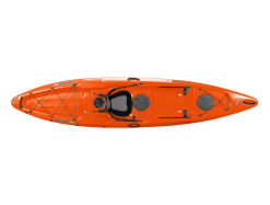 The Tarpon 120 Ultralight is the lightest sit on top kayak for fishing or just touring your local waterway. Made from thermo-formed plastic for stiffness, durability and weight reduction. Paddle with ease and turn on a dime these ultralight Tarpon kayaks from Wilderness Systems are so epic. Add a few fishing accessories and a rudder and your set to chase the big fish out the back. Drop a line for a snapper or bring the missus home a feed of King George Whiting. Add a sail so when it's home time and the wind is up you can pop it like it's hot and sail all the way back trolling up a summer Tailor. Beautifully designed open deck with minimum clutter for a smooth joyful paddle. This is the lightest sit on top kayak.