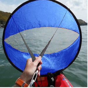 With the Surge kayak sail kit get to and from your favourite piece of water is a breeze. Small compact and light, this kayak sail fits to any kayak using the straps. Paddle to your favourite fishing spot then when the wind comes up flit it out and sail home.